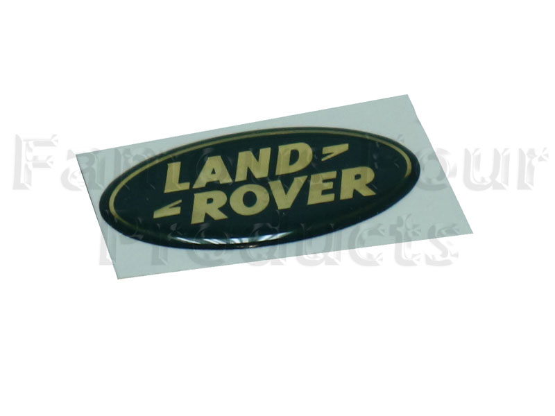 Oval Logo Stick-on Land Rover Badge -  -