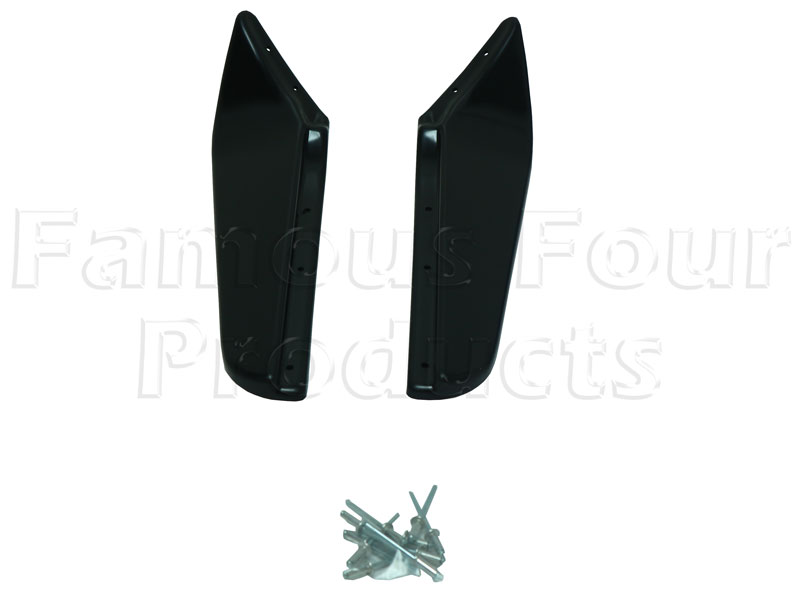 Wheel Arch Extension Flare SMOOTH FINISH - Rear -  -