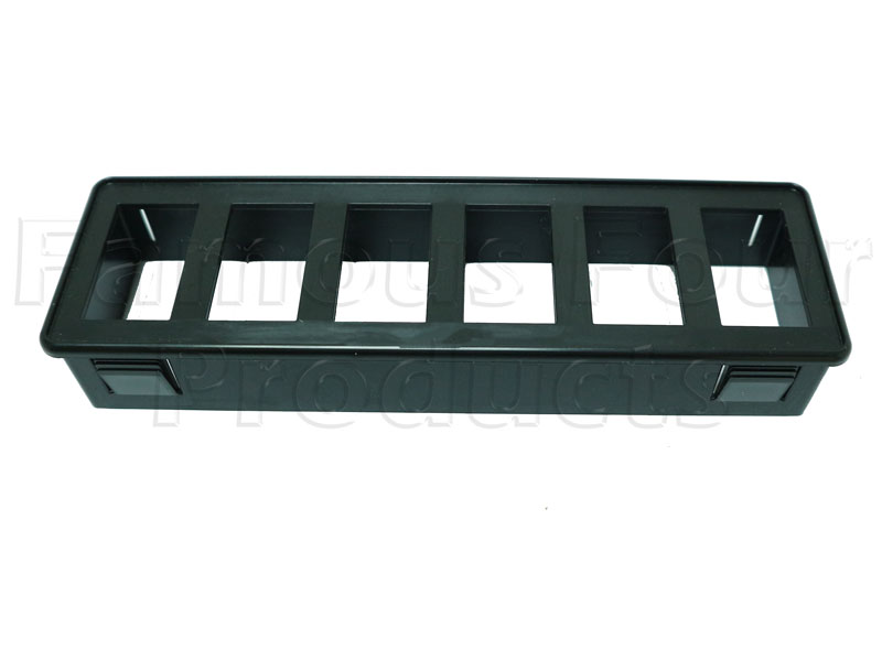FF012172 - 6 Switch Panel for DIN Mount Aperture - Land Rover 90/110 and Defender