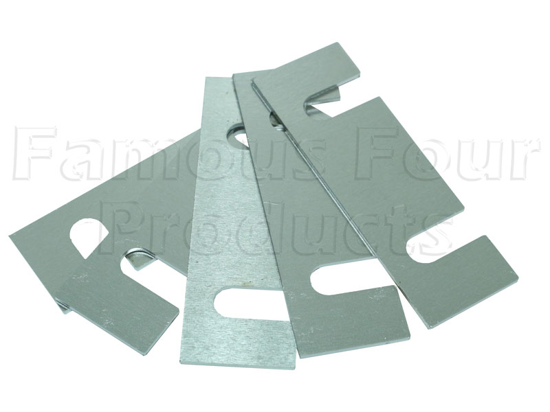 Spacer Packing Plate - Bulkhead Toe Panel to Chassis Bracket -  -