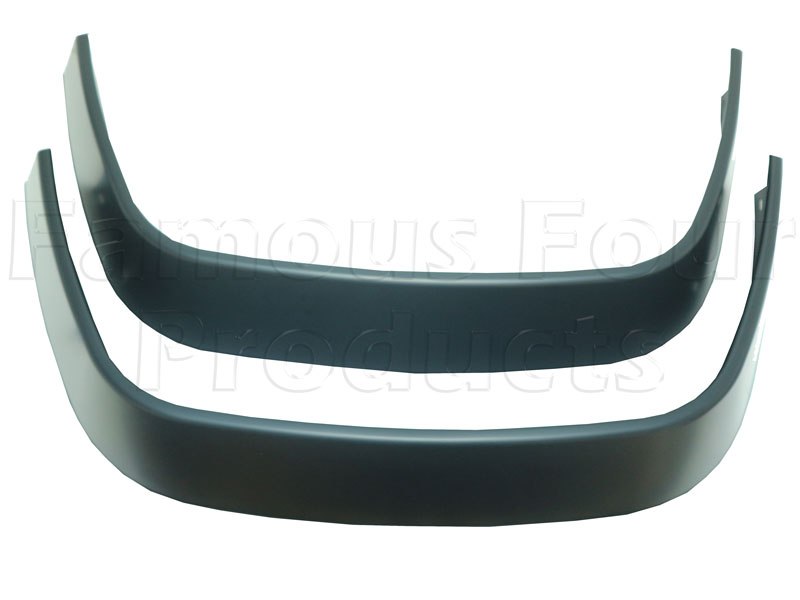 Extended Wheel Arch Eyebrow Spats (Matt Black) - 90/110 and Defender
