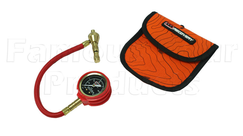 E-Z Tyre Deflator with Pressure Guage - 90/110 and Defender
