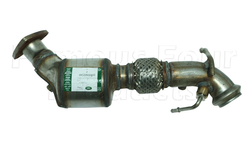 Downpipe with Catalytic Convertor -  -